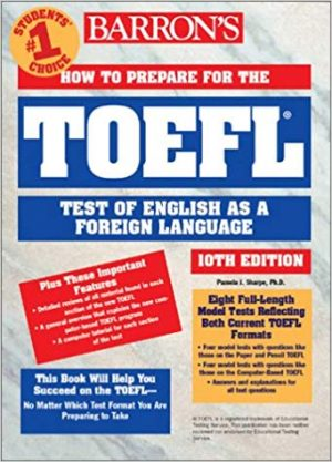 Barron's How to Prepare for the Toefl Test